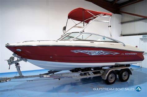 Used Boat Parts For Sale Uk by Monterey 204fs Sports Boat For Sale Uk Ireland At