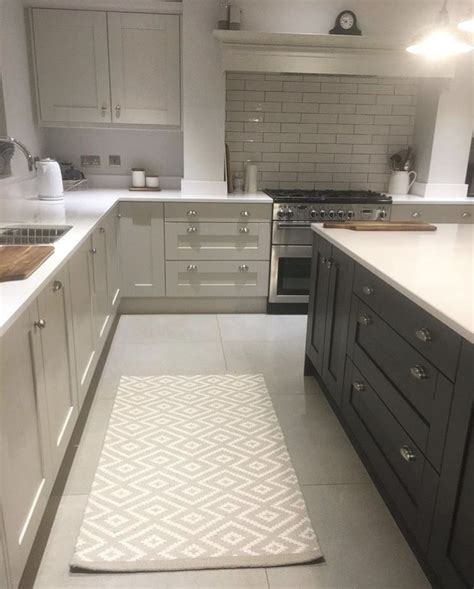 Lining Kitchen Cupboards by Ammonite Cupboards With White Worktops Home Decor Home