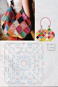 1195 Best Crochet Bolsos Y Carteras Images On Pinterest