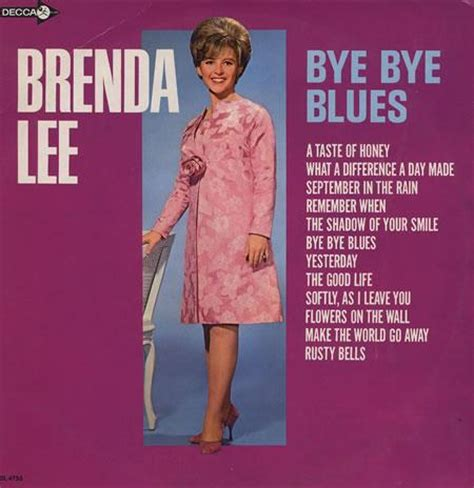 brenda lee hometown brenda lee bye bye blues 1966 lyrics lyric wikia