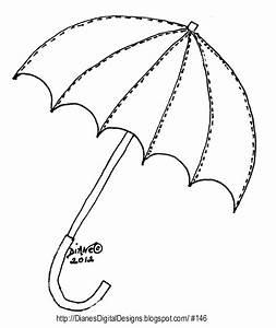 Umbrella Template - AZ Coloring Pages