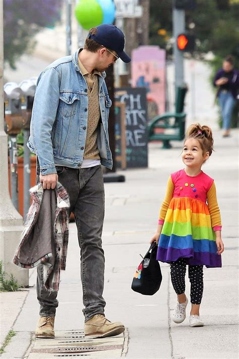 ryan gosling  daughter esmeralda   cutest pair