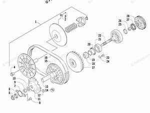 Arctic Cat Side By Side 2013 Oem Parts Diagram For Transmission Assembly