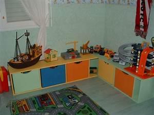 Rangement Chambre Enfant : astuce rangement chambre garcon visuel 4 ~ Teatrodelosmanantiales.com Idées de Décoration