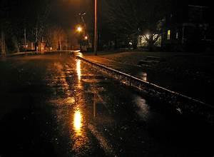Rainy night street   Phillip   Flickr