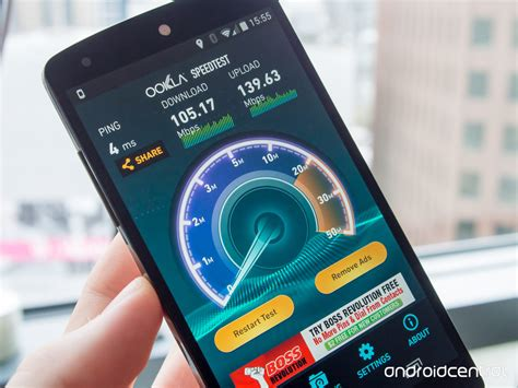 android speed test use speedtest net update the app for more consistent