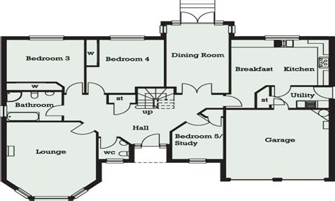 bedroom bungalow  ghana  bedroom bungalow floor plans