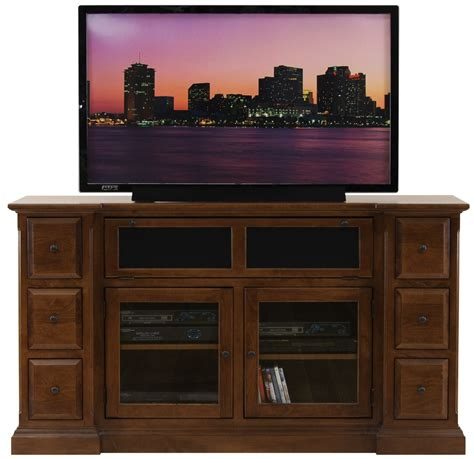 cabinet with tv rack dark brown wooden tv stand with two shelves on the middle