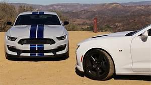 Ford Shelby Gt350 Vs  Chevy Camaro Ss  Video Throwdown