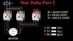 Image Result For Automatic Star Delta Connection For Two