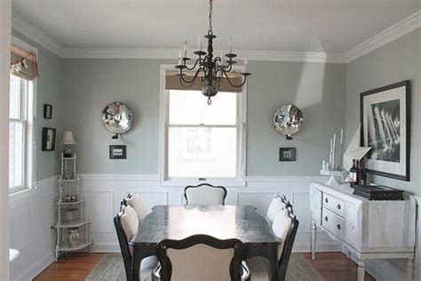 light french blue paint light french grey dining room sherwin williams dining