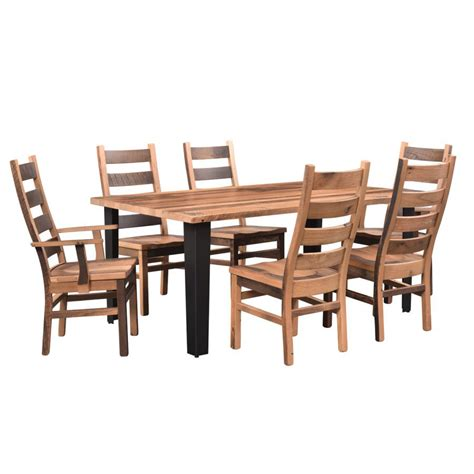 newport dining collection table amish crafted furniture