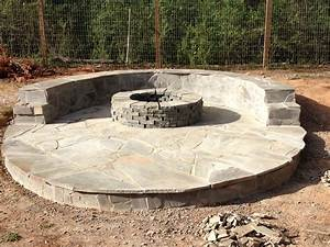 Stone, Veneer, Fire, Pit, Patio, 11, Steps, With, Pictures