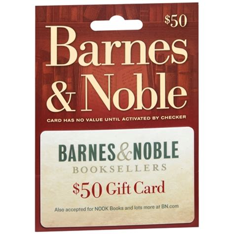 barnes and noble card barnes noble 50 gift card walgreens