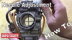 How To Adjust The Needle In Your Motorcycle Or Atv Carburetor