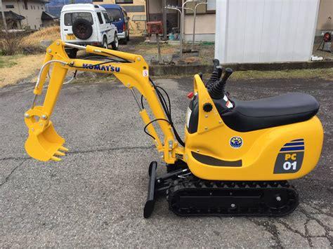 komatsu pc  super mini hydraulic excavator  hour operation pattern changeover length