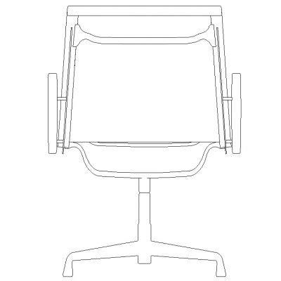 autocad blocks elevation furniture studio design