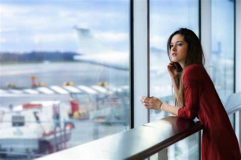 women, Model, Airport Wallpapers HD / Desktop and Mobile ...
