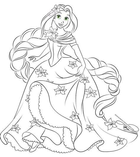 disney princesses lineart favourites  jeanuchiha