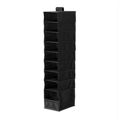 Hanging Closet Organizer Ikea by Ikea Hanging Organizer 9 Compartment 47 Quot Closet Storage