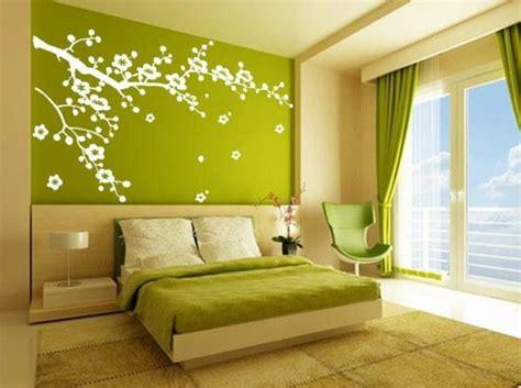 chambre verte stickers chambre adulte lesquels choisir archzine fr
