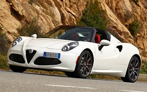Alfa Romeo 4c Spider (2015) Wallpapers And Hd Images