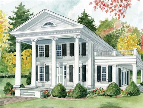 Greek Revival; As Represented By The