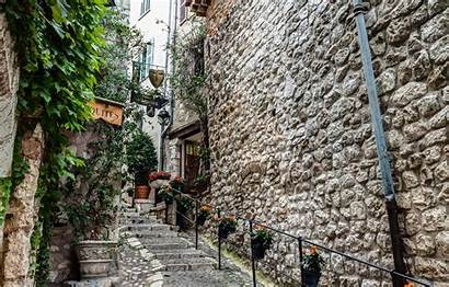 Vence Paul Saint Cafe France Cities Stairs