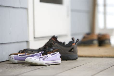 shoes  stock photo pairs  shoes   door mat