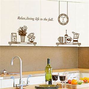 Kitchen wall decals removable sticker home decoration