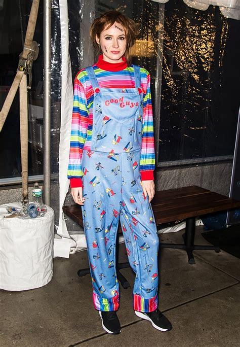 Karen Gillan as Chucky | Celebrity Halloween Costumes 2018 ...