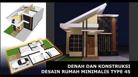gambar desain rumah type  tukang desain rumah