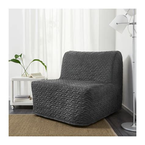 lycksele murbo chair bed vallarum grey ikea