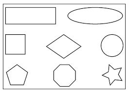 image result  colouring worksheets  shapes  pre