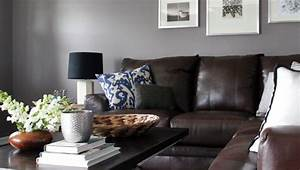 Beautiful abbyson living in living room contemporary with for Living room with grey walls and brown couch