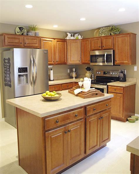 light cherry cabinets house tour living rich on lessliving rich on less