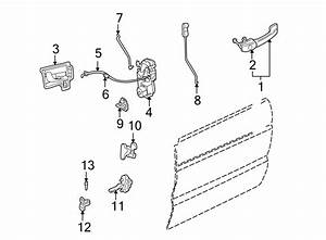 2001 Land Rover Discovery Door Latch Cable Clip  Release