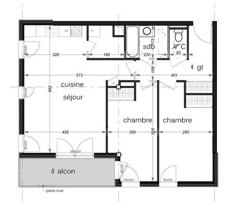 combien de chambre dans un t3 appartement n c16 résidence swan t3 de 68 68 m à avé
