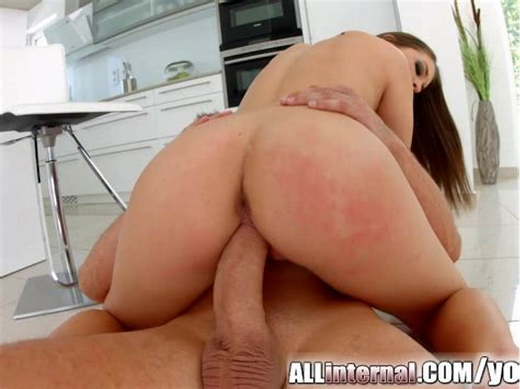 #Allinternal #Angelina #Brill #Receives #A #Messy #Creampie