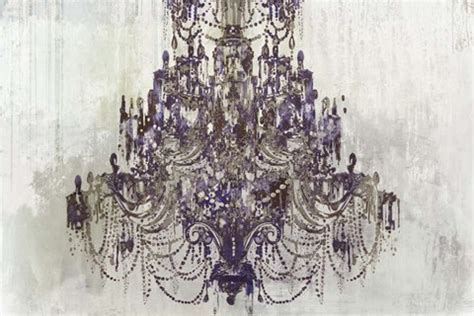 Plum Chandelier by Plum Chandelier On White Print By Aimee Wilson At