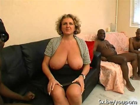 A French Mature Named Lou Gangbanged By Black Cocks Free