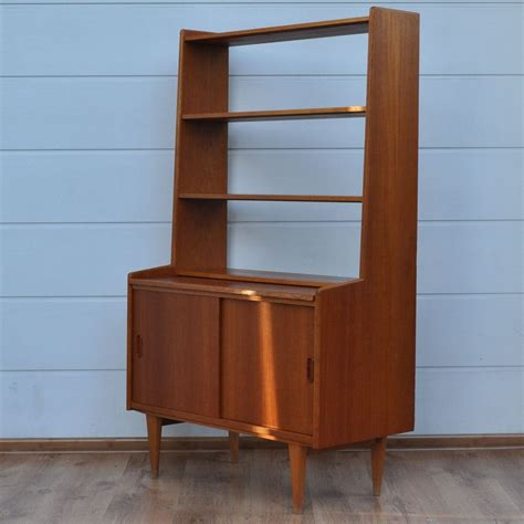 mid century l mid century teak bookcase from royal board for at pamono