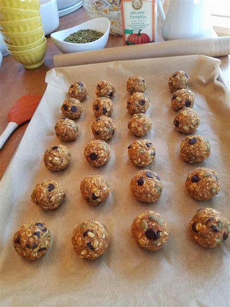 Double Pumpkin Dark Chocolate Energy Balls Clean Food Crush