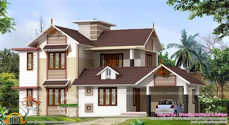 house designs 2400 sq ft house design kerala home design and floor