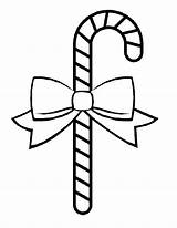 Coloring Candy Cane Printable Tree Ornament Ornaments sketch template