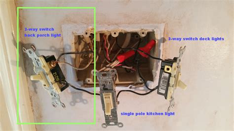 Electrical How Replace Way Switch Wire