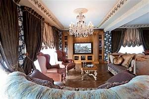 Interior Decorating In Classic Style Premier Apartment In