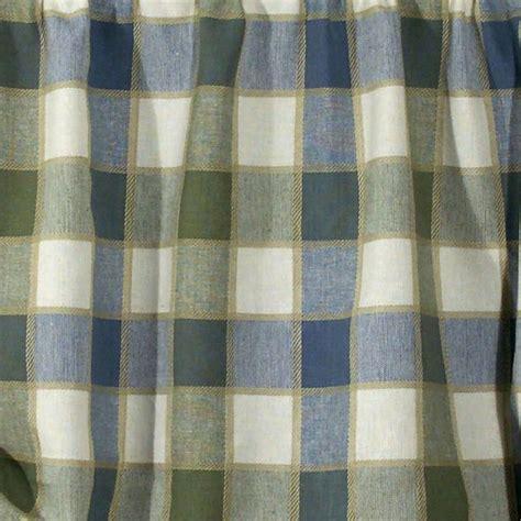 plymouth plaid curtain panel