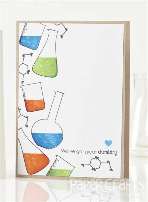 great chemistry card  cecilia hsieh paper crafts