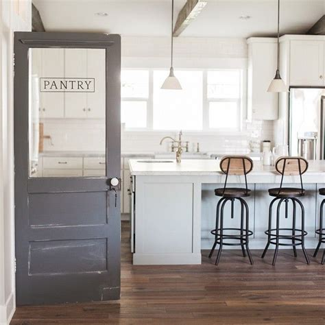 shot   kitchen  pantry door   latest home